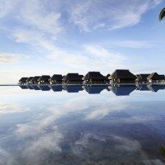 Отель Sofitel Moorea la Ora Beach Resort Французская Полинезия, Папеэте - 1 отзыв об отеле, цены и фото номеров - забронировать отель Sofitel Moorea la Ora Beach Resort онлайн бассейн фото 3