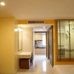 Апартаменты Trebel Service Apartment Pattaya Паттайя комната для гостей фото 2