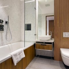 Отель Roman House Apartment Великобритания, Tottenham - отзывы, цены и фото номеров - забронировать отель Roman House Apartment онлайн ванная