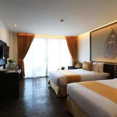 Отель The Beach Heights Resort 4* Номер Делюкс с различными типами кроватей фото 6