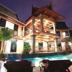 Отель Kata Tranquil Villa бассейн