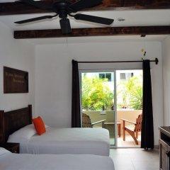Отель La Pasion Hotel Boutique Мексика, Плая-дель-Кармен - отзывы, цены и фото номеров - забронировать отель La Pasion Hotel Boutique онлайн комната для гостей фото 4