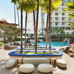 Fairmont Miramar Hotel & Bungalows Санта-Моника детские мероприятия