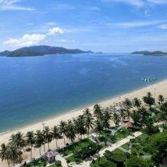 Bonjour Nha Trang Hotel пляж