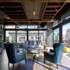 Gansevoort Park Hotel NYC интерьер отеля