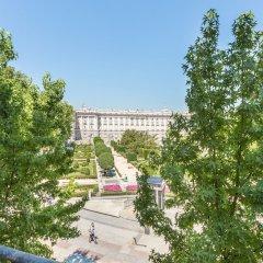 Отель Palacio Real Испания, Мадрид - отзывы, цены и фото номеров - забронировать отель Palacio Real онлайн балкон