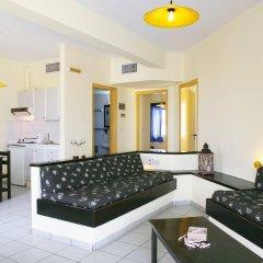 Отель Kaissa Beach Греция, Гувес - 1 отзыв об отеле, цены и фото номеров - забронировать отель Kaissa Beach онлайн комната для гостей фото 2