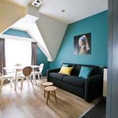 Отель Cityden Museum Square Hotel Apartments Нидерланды, Амстердам - отзывы, цены и фото номеров - забронировать отель Cityden Museum Square Hotel Apartments онлайн комната для гостей фото 4
