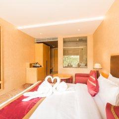 Отель D'corbiz Индия, Лакхнау - отзывы, цены и фото номеров - забронировать отель D'corbiz онлайн комната для гостей фото 3