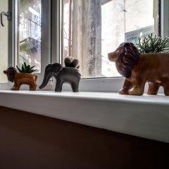 Ostriv Hostel с домашними животными