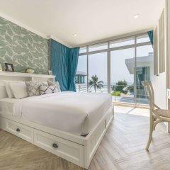 Отель X2 Hua Hin LeBayburi Pranburi Villa комната для гостей фото 3