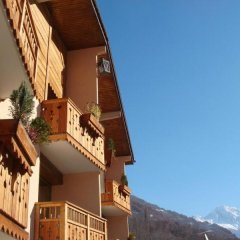 Отель Les Bains балкон