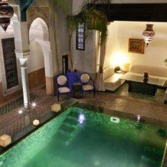 Отель Riad Farnatchi Марокко, Марракеш - отзывы, цены и фото номеров - забронировать отель Riad Farnatchi онлайн бассейн фото 3