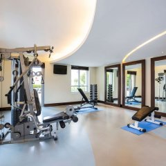 Отель Novotel Dubai Deira City Centre фитнесс-зал фото 2