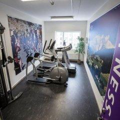 Отель Scandic Aalborg City Дания, Алборг - отзывы, цены и фото номеров - забронировать отель Scandic Aalborg City онлайн фитнесс-зал фото 3