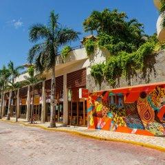 Отель Porto Playa Condo Hotel & Beachclub Мексика, Плая-дель-Кармен - отзывы, цены и фото номеров - забронировать отель Porto Playa Condo Hotel & Beachclub онлайн пляж фото 2