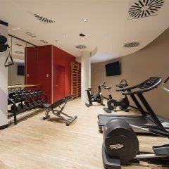 Отель Novotel Barcelona Cornella фитнесс-зал