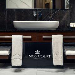 Отель Kings Court Hotel Чехия, Прага - 13 отзывов об отеле, цены и фото номеров - забронировать отель Kings Court Hotel онлайн ванная фото 2