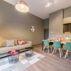 Отель Smartflats Design - Schuman Брюссель комната для гостей фото 4