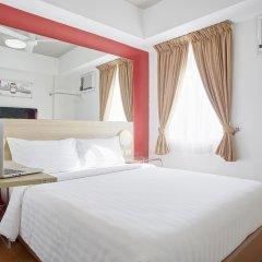 Отель Red Planet Manila Mabini Филиппины, Манила - 1 отзыв об отеле, цены и фото номеров - забронировать отель Red Planet Manila Mabini онлайн комната для гостей фото 2