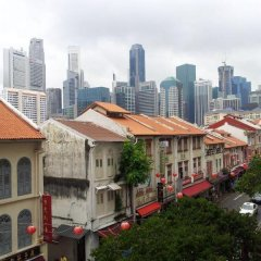 Отель Yes Chinatown Point Сингапур балкон