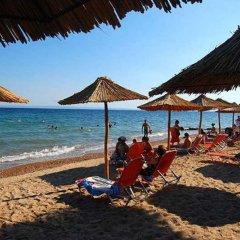 Отель Simeon Греция, Метаморфоси - отзывы, цены и фото номеров - забронировать отель Simeon онлайн пляж фото 2