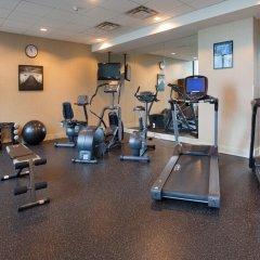 Отель Holiday Inn Vancouver Centre Канада, Ванкувер - отзывы, цены и фото номеров - забронировать отель Holiday Inn Vancouver Centre онлайн фитнесс-зал
