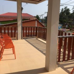 Апартаменты Pra-Ae Lanta Apartment Ланта балкон