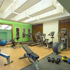 Отель Hilton Garden Inn Dubai Al Muraqabat Дубай фитнесс-зал