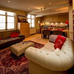 Отель Holiday Home Bridge House Бельгия, Брюгге - отзывы, цены и фото номеров - забронировать отель Holiday Home Bridge House онлайн комната для гостей