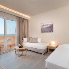 Отель Horizon Beach Resort Греция, Калимнос - отзывы, цены и фото номеров - забронировать отель Horizon Beach Resort онлайн комната для гостей фото 5