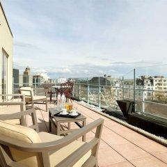 Отель Eurostars Montgomery Брюссель балкон