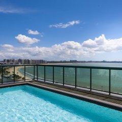Отель Bourbon Vitoria Hotel (Residence) Бразилия, Витория - отзывы, цены и фото номеров - забронировать отель Bourbon Vitoria Hotel (Residence) онлайн бассейн фото 2