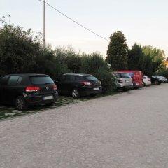 Hotel Radice Чивитанова-Марке парковка
