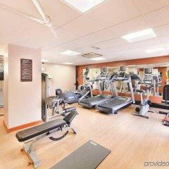 Отель Hilton Manchester Airport Манчестер фитнесс-зал фото 4