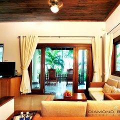 Отель Diamond Bay Resort and Spa Вьетнам, Нячанг - 2 отзыва об отеле, цены и фото номеров - забронировать отель Diamond Bay Resort and Spa онлайн комната для гостей фото 5