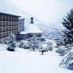 Отель Parador de Vielha спортивное сооружение