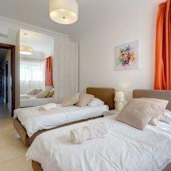 Отель Ocean Front LUX Apartment inc Pool, Upmarket Area Мальта, Слима - отзывы, цены и фото номеров - забронировать отель Ocean Front LUX Apartment inc Pool, Upmarket Area онлайн комната для гостей фото 2