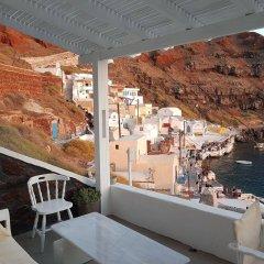 Отель Amoudi Villas Греция, Остров Санторини - отзывы, цены и фото номеров - забронировать отель Amoudi Villas онлайн балкон