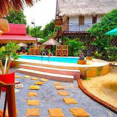 Отель Kantiang Oasis Resort & Spa бассейн фото 2