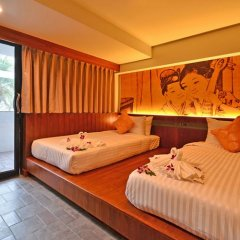 Отель Lap Roi Karon Beachfront 4* Стандартный номер разные типы кроватей фото 3