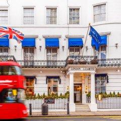 London Elizabeth Hotel городской автобус