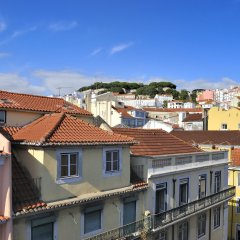 Отель Vincci Baixa балкон