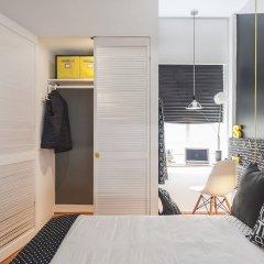 Отель Black & White Apartment Мексика, Мехико - отзывы, цены и фото номеров - забронировать отель Black & White Apartment онлайн комната для гостей фото 4