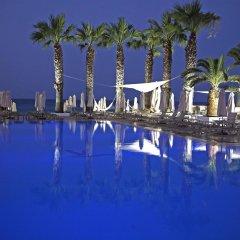 Отель Vrissiana Beach Hotel Кипр, Протарас - 1 отзыв об отеле, цены и фото номеров - забронировать отель Vrissiana Beach Hotel онлайн бассейн фото 2