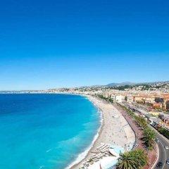 Отель Nice Riviera Ницца пляж фото 2
