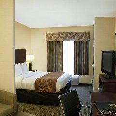Отель Comfort Suites Cicero сейф в номере
