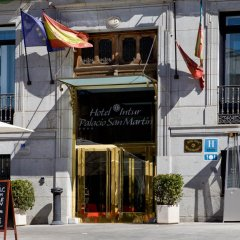 Отель Palacio San Martin Мадрид вид на фасад