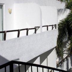 Отель El Hotelito балкон