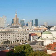 Отель Sheraton Grand Warsaw Польша, Варшава - 7 отзывов об отеле, цены и фото номеров - забронировать отель Sheraton Grand Warsaw онлайн балкон